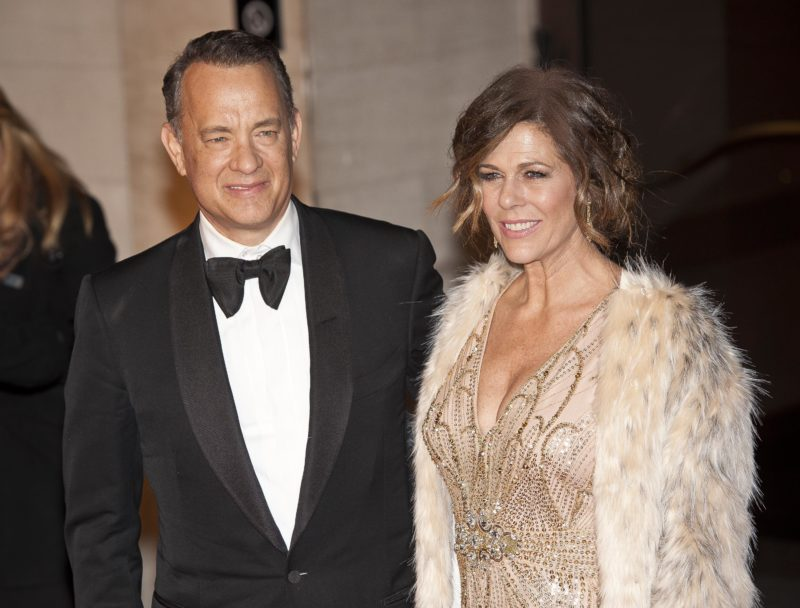 4. Tom Hanks y Rita Wilson