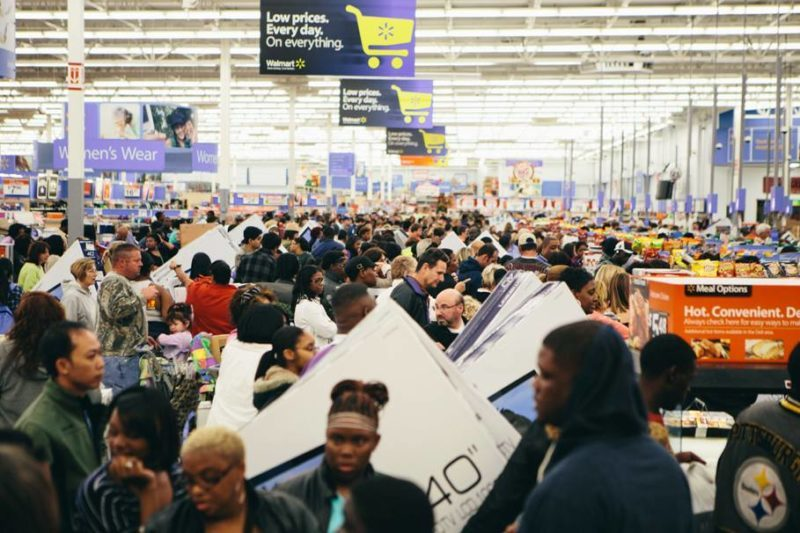 Walmart en Black Friday