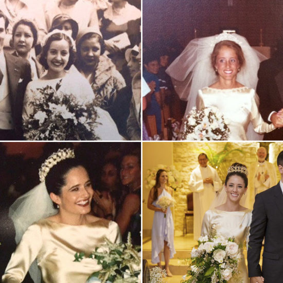 A wedding dress made in 1932 has been handed down through five generations of the same family. (Photo courtesy of Marta O'Hara)