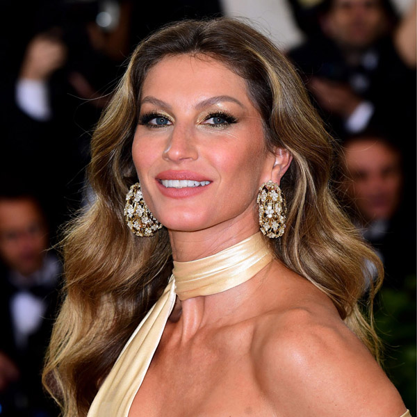 Gisele Bundchen attending the Metropolitan Museum of Art Costume Institute Benefit Gala 2018 in New York, USA.